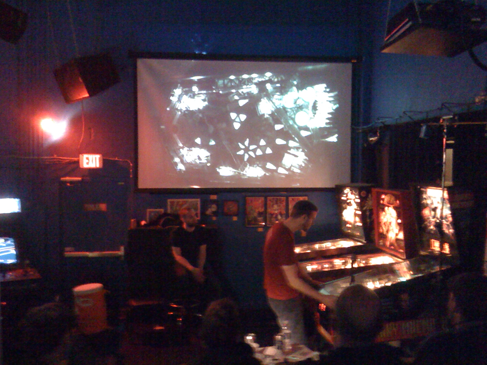 Last year's final between Opto and the eventual winner, Deathsave.