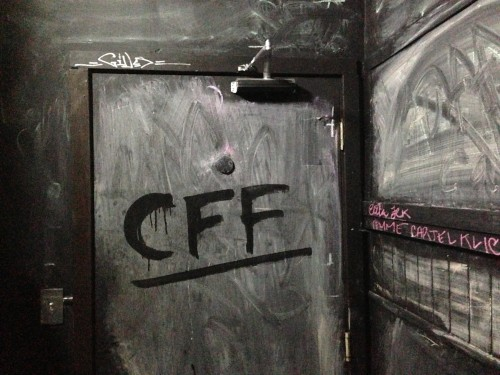 CFF! Bathroom Anti-Grafiti